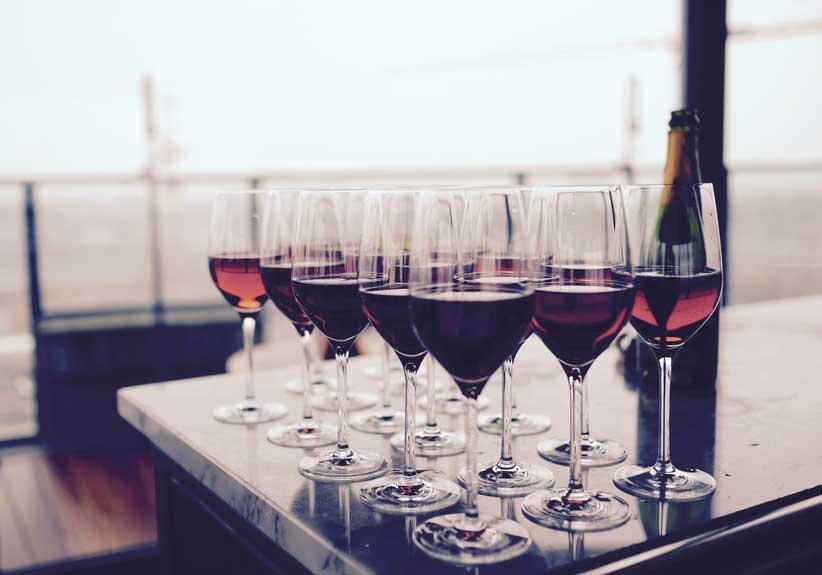 Différence entre vin rouge, rosé et blanc